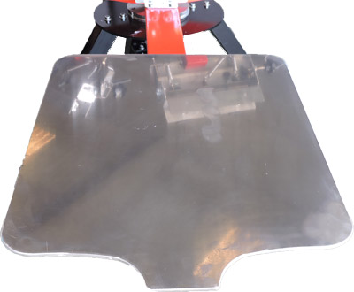 bases aluminio pulpo serigráfico kraken