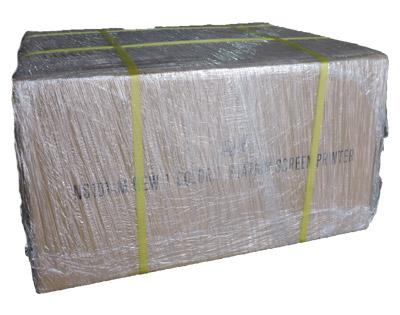 Embalaje mecanismo impresión Pelícano
