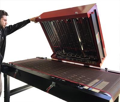 Lámparas infrarojas equipo de secado TS 1800