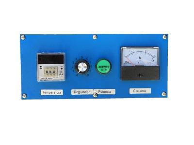 Panel de control del túnel de curado TS 1800